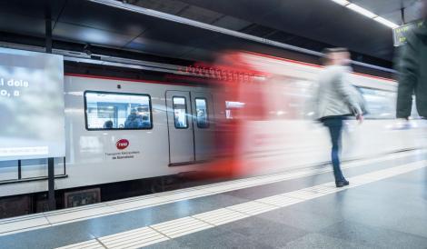 Imatge del metro de Barcelona